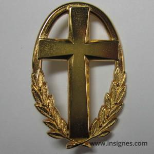 Aumonier Militaire Insigne AB GS 78