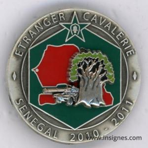 1° REC 3° Escadron SENEGAL 2010 - 2011