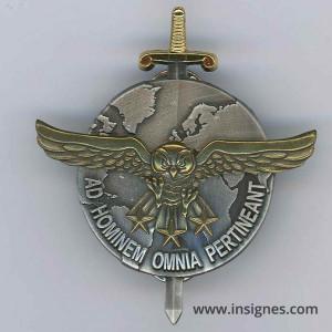 2° Régiment de Hussards GRI Brevet Recueil de l'Information AB Argent + bronze