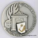 Commandement des Ecoles de la Gendarmerie Médaille de table 65 mm (émail)