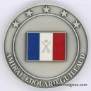 Amiral GUILLAUD CEMA Médaille 45 mm