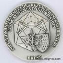DIRISI BREST Transmissions Médaille de table 65 mm