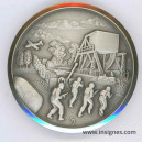 6 Juin 1944 Débarquement Pegasus bridge Médaille 50 mm