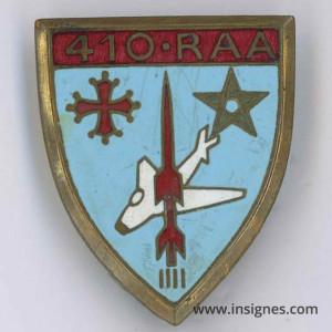 410° Régiment Anti Aérien RAA Arthus-bertrand G 1017