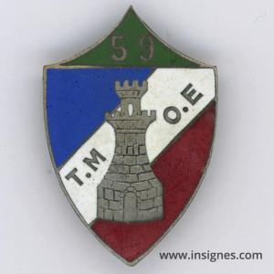 59° Compagnie de Travailleurs Etrangers Secteur Fortifié des Flandres