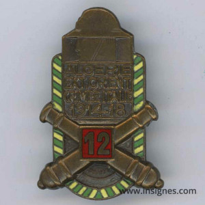 12° Régiment d'Artillerie