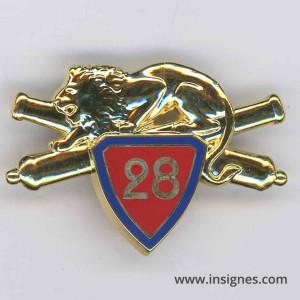 28° Régiment d'Artillerie