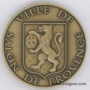 SALON DE PROVENCE Médaille 50 mm