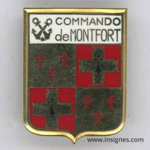 Commando DE MONTFORT (estampé)