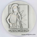 IHEDN Union Médaille de table 65 mm