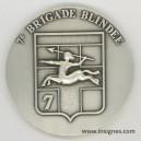 7° BRIGADE BLINDÉE Médaille de table 70 mm