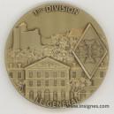 1° Division Blindée Le Général Médaille de table 70 mm