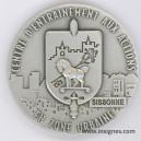 Centre d'Entrainement aux actions en Zone Urbaine Sissonne Médaille 40 mm
