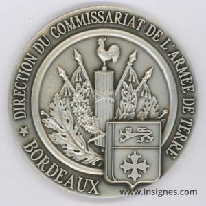 Direction du Commissariat DIRCAT BORDEAUX Fond de coupelle 62 mm