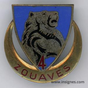 4° Régiment de Zouaves