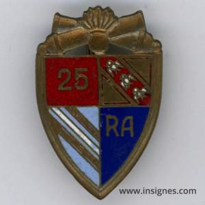 25° Régiment d'Artillerie