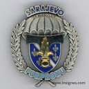 Transmissions SARAJEVO 2° Mandat FORPRONU Insigne Drago