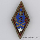2° Régiment d'Artillerie de Montagne (émaux )