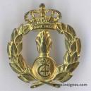 DANEMARK Insigne du corps royal du Matériel