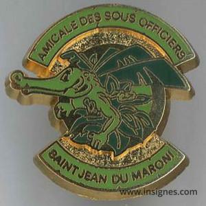 SMA Saint JEAN DU MARONI Amicale Sous-Officiers Pin's