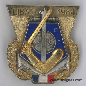 1° RIMA 1° Compagnie 1984 LIBAN FINUL