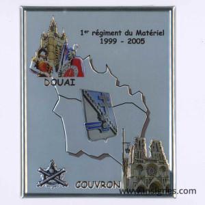 1° RMAT Plaque 1999-2005 Douai Couvron