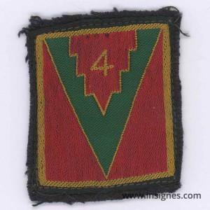 4° Division d'Infanterie Tissu