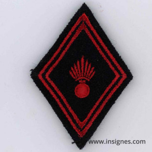 Tissu losange 45 Infanterie troupe