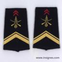 Tissu fourreaux Infanterie Sergent ADL
